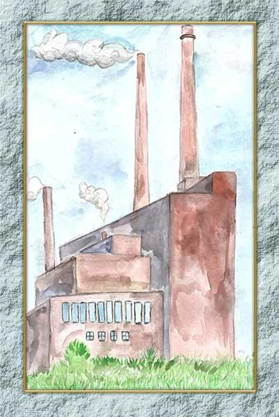 Дети рисуют завод, Рисунок 5