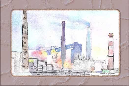 Дети рисуют завод, Рисунок 7
