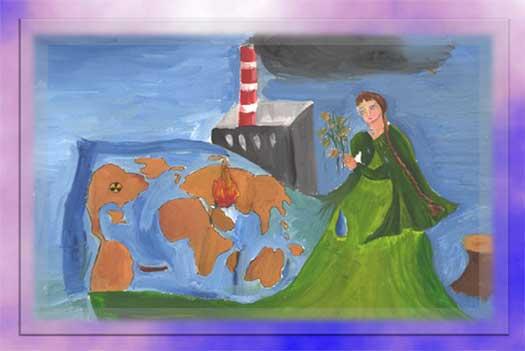 Дети рисуют завод, Рисунок 9