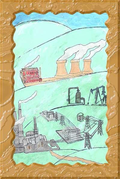 Дети рисуют завод, Рисунок 10