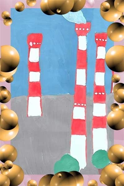 Дети рисуют завод, Рисунок 11