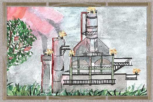 Дети рисуют завод, Рисунок 12